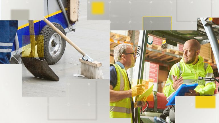 Cleaning and sanitation and loading and stocking face the most acute labour shortages.
