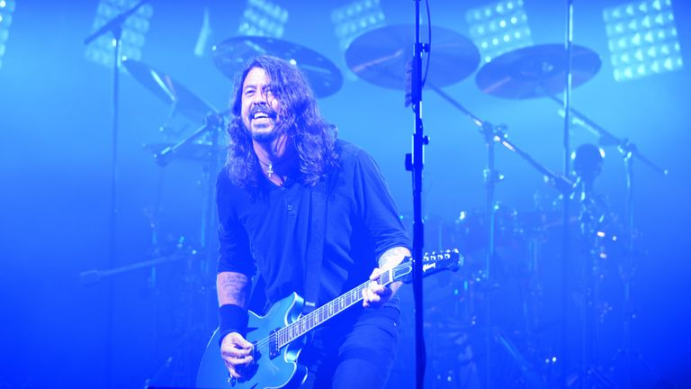 Dave Grohl wanted to be a rock star - but his dad had different ideas