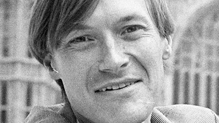 File photo dated 11/05/90 of Conservative MP Amess David who has reportedly been stabbed several times at a surgery in his Southend West constituency. Issue date: Friday October 15, 2021.