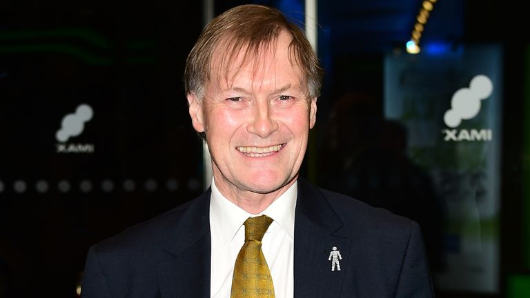 David Amess attending the Paddy Power Political Book Awards at the BFI IMAX, Southbank, London. PRESS ASSOCIATION Photo. Picture date: Wednesday January 28, 2015. Photo credit should read: Ian West/PA Wire