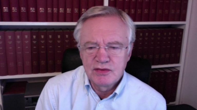 David Davis, has said MPs should continue meeting their constituents face-to-face.