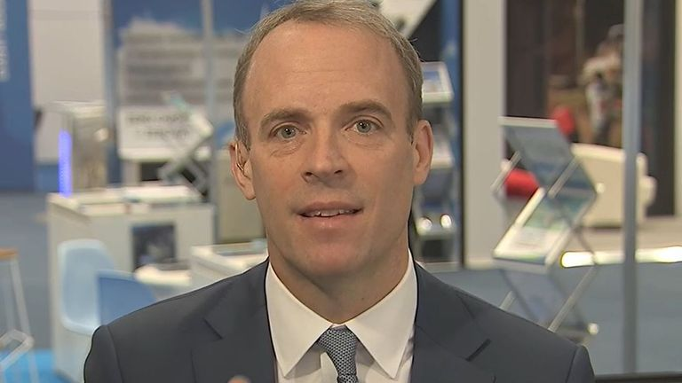Dominic Raab insists that the government's economic plan is the right one in the long term