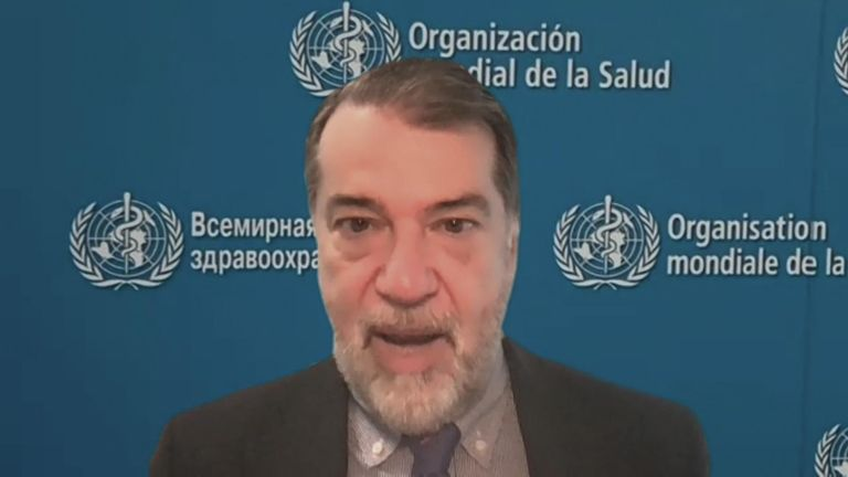 Dr Pedro Alonso, Director of the Global Malaria Programme at WHO