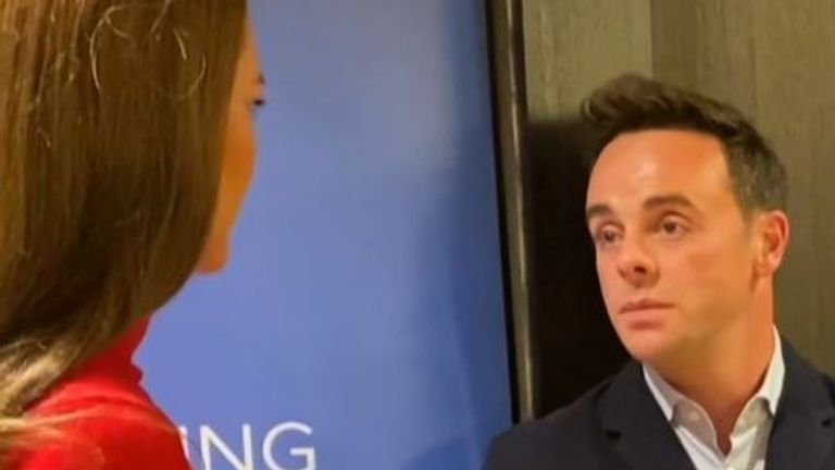 Duchess of Cambridge talks to Ant and Dec about addiction at a campaign launch