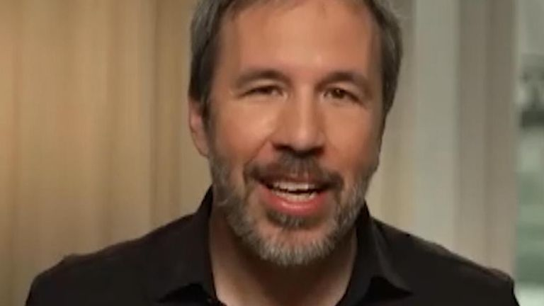 Dune director Denis Villeneuve spoke to Sky News ahead of the film's highly anticipated release.