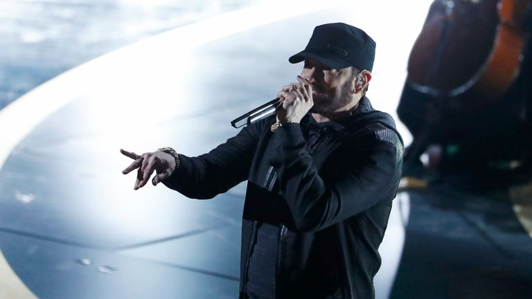 Dr Dre signed Eminem in 1998 for Aftermath Entertainment, on the recommendation of Jimmy Lovine and produced three songs on his EP, The Slim Shady