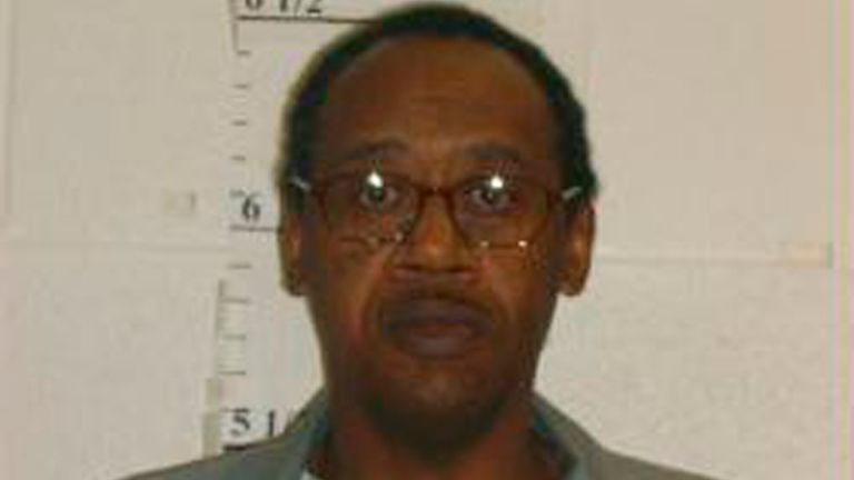 Death row inmate Ernest Lee Johnson shown in October 2016