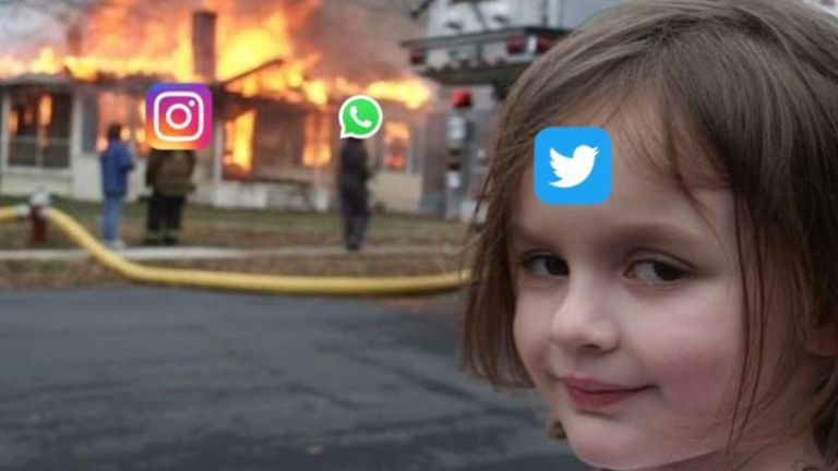 Facebook down: 10 memes poking fun at the outage as world flocks to Twitter  instead | Science & Tech News | Sky News