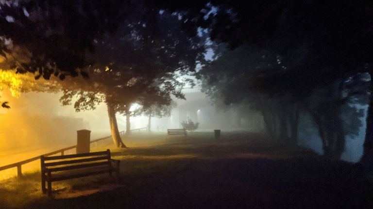 Fog patches could see visibility dip below 50m