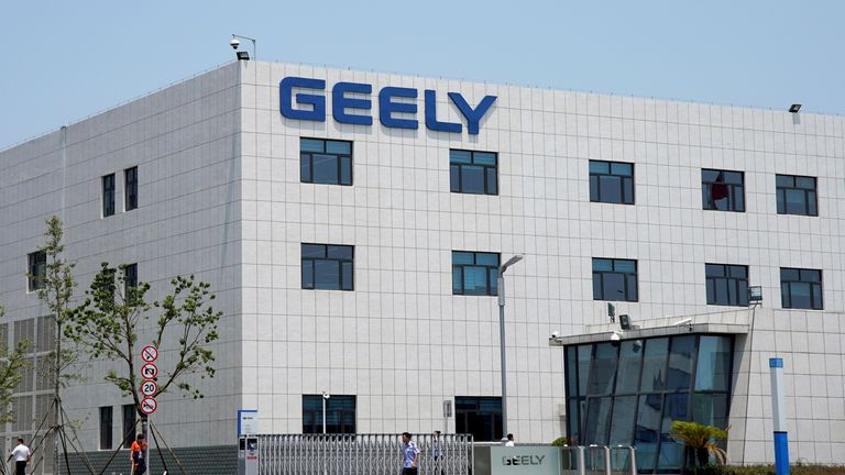 A building of the Geely Auto Research Institute is seen in Ningbo, Zhejiang province, China August 4, 2017.