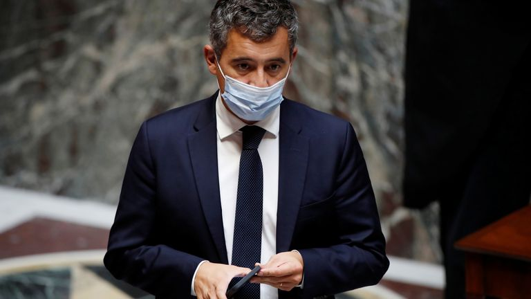 French Interior Minister Gerald Darmanin is to visit Calais today to address the migrant crisis