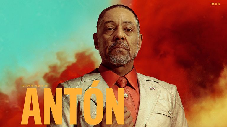Esposito plays a dictator in the latest Far Cry game. Pic: Ubisoft