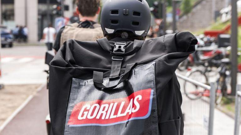 Gorillas rider Pic: Gorillas