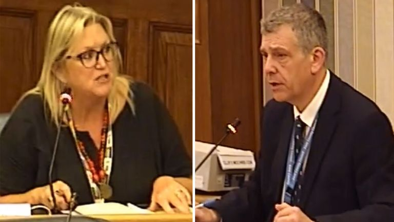 Paul Bartlett made the controversial comment in response to Karen Constantine