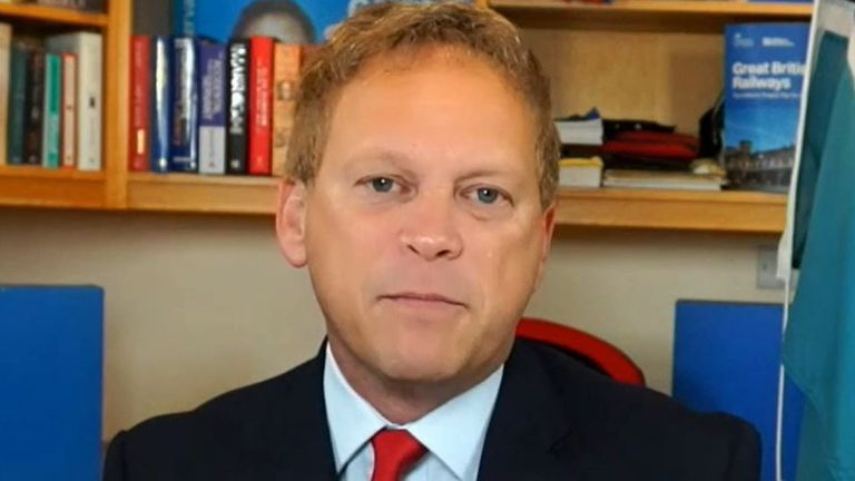 Grant Shapps says requirements for lateral flow tests instead of PCRs should be in place for travellers by October half term