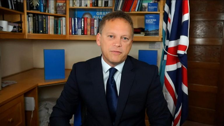 Grant Shapps responds to Queen's comments on COP26