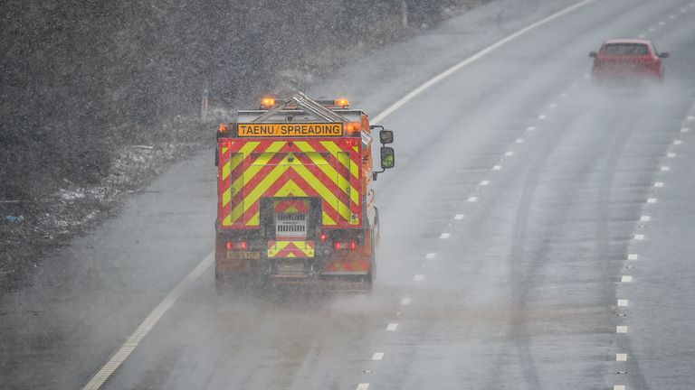A shortage of gritter drivers could lead to treacherous roads this winter