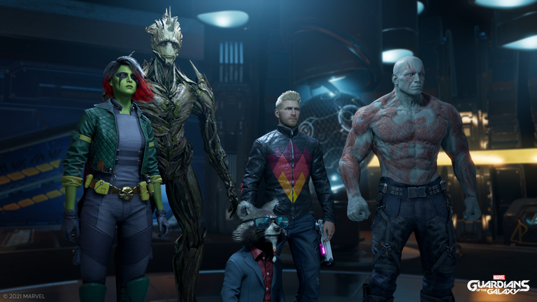 Marvel's Guardians of the Galaxy is now out as a video game. Pic: Marvel/Square Enix