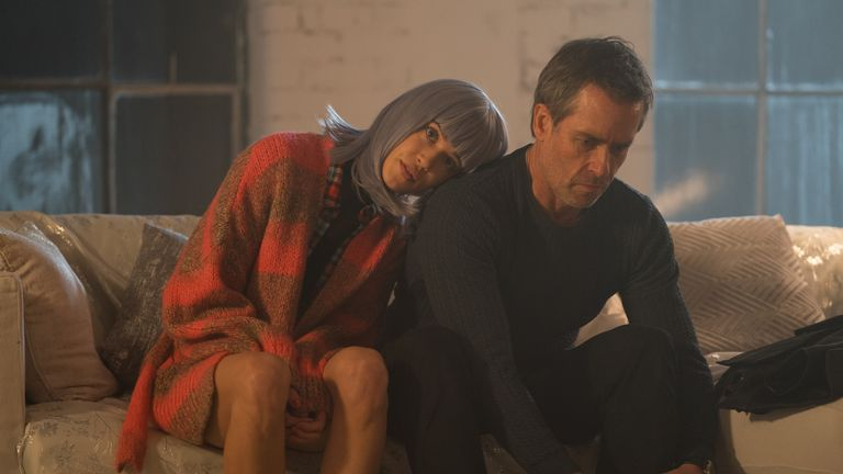Guy Pearce and Matilda Anna Ingrid Lutz in Zone 414