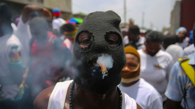 Haiti is the poorest country in the Americas, and a surge in gang violence has displaced thousands of people. AP file pic