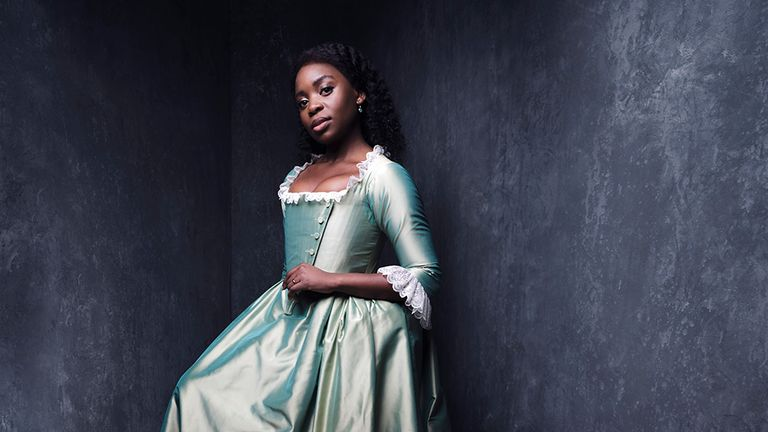 Sharon Rose as Eliza in Hamilton. Pic: Rankin
