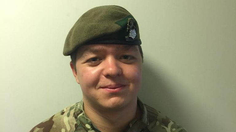 Private Jethro Watson-Pickering, 23, of the 1st Yorks Regiment, Army/Facebook