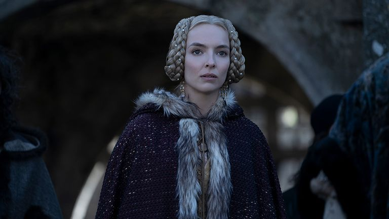 Jodie Comer in The Last Duel. Pic: 20th Century Studios