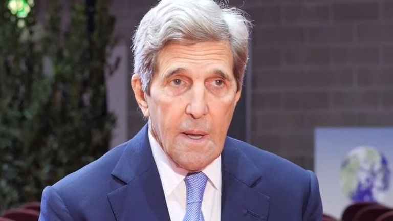 John Kerry says his dealings with China over climate change can be tangled up with other issues