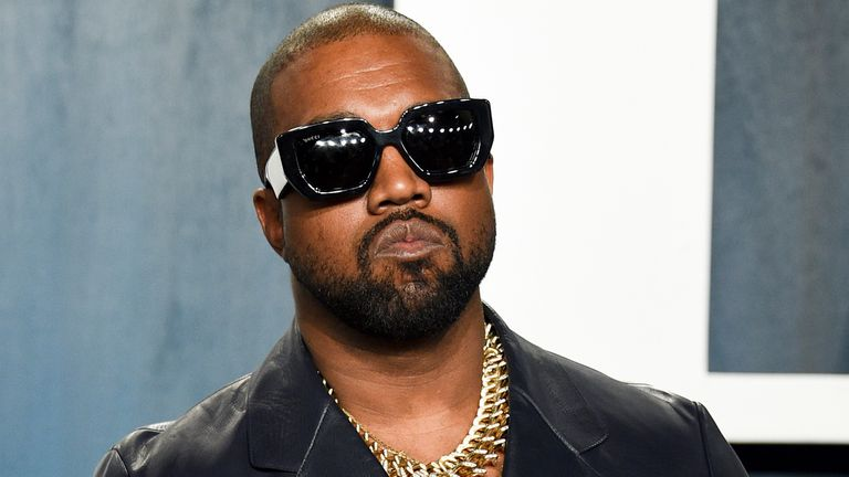 Kanye West will now be known as Ye. Pic: AP