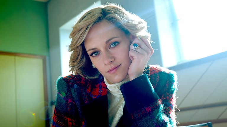 Kristen Stewart is the latest actress to play Diana, Princess of Wales. Pic: STX Entertainment