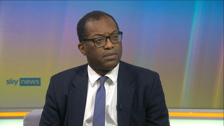 Business Secretary Kwasi Kwarteng has ruled out another COVID-19 lockdown.