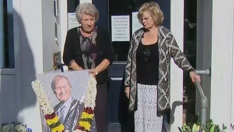 Residents of Leigh-on-Sea hold silence for murdered MP