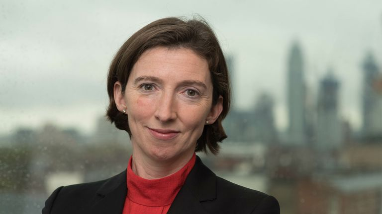 Lindy Cameron is the chief of the UK's National Cyber Security Centre