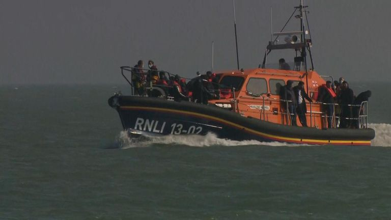 Record numbers of migrants have landed on the Kent coast this year