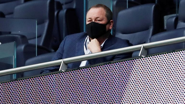 Mike Ashley bought a majority stake in the club in 2007