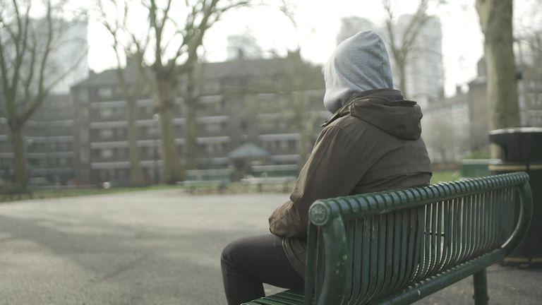 anonymous modern slavery victim, male, 'Dan'. Pic: Salvation Army