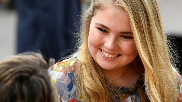Little is known about the personal life ofCrown Princess Catharina-Amalia, 17