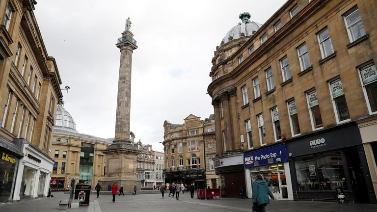 Newcastle is among the urban areas with the lowest life expectancy, according to researchers