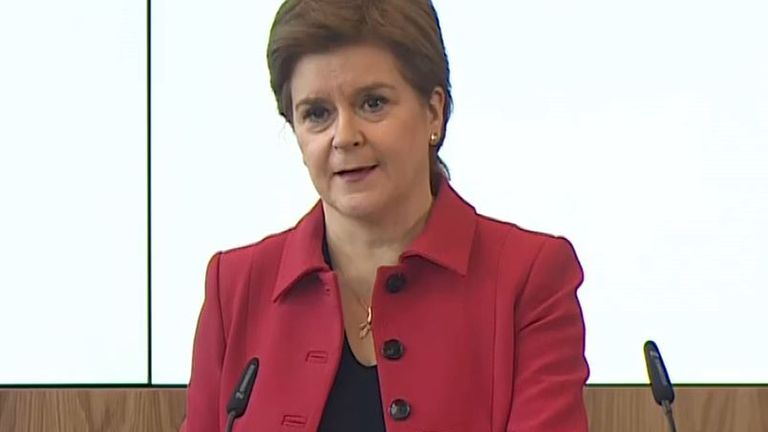 Nicola Sturgeon makes a pledge ahead of COP26