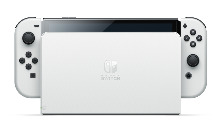 The new Nintendo Switch comes with a redesigned OLED screen