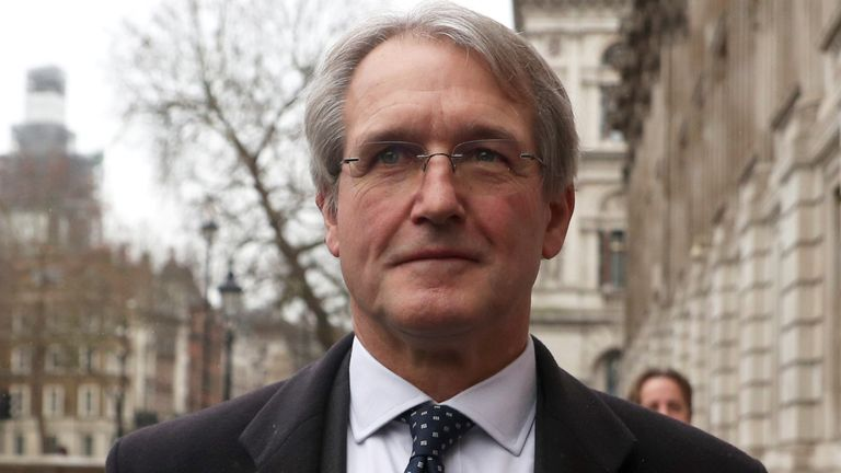 Owen Paterson denies breaking lobbying rules and says the inquiry contributed to his wife's suicide