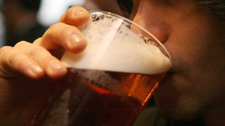 The report says the cost of a pint in London could top £6