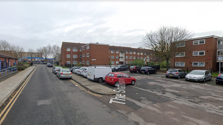 Police were called to The Shaftesburys in Barking on Tuesday evening