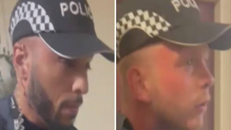 Met Police said they wanted to speak to these two men.