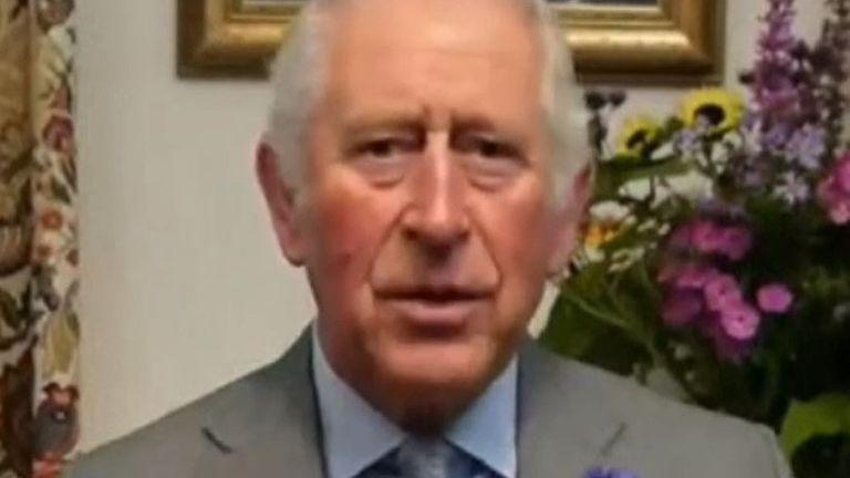 Prince Charles addresses COP15