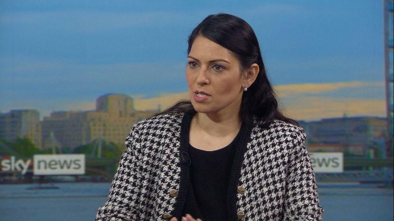 Home Secretary Priti Patel says MPs could get police protection for constituency surgeries in wake of MP Sir David Amess's killing.