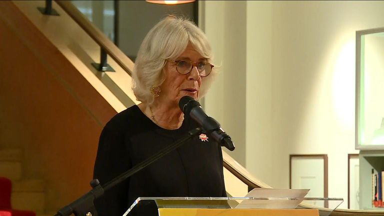 The Duchess of Cornwall is campaigning to lift the shame and stigma surrounding violence against women.