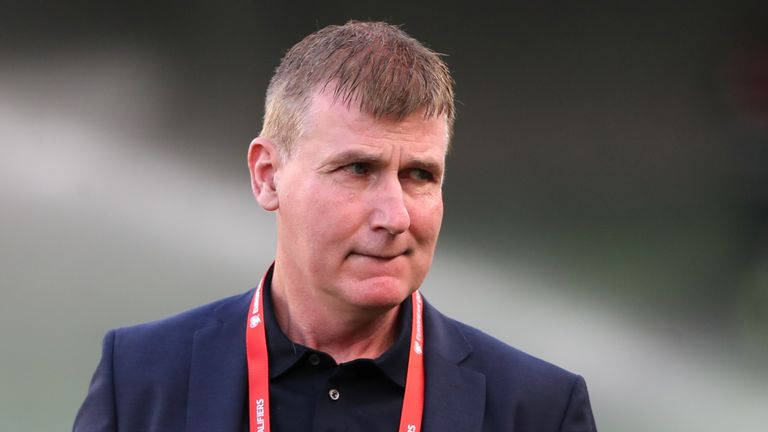 Republic of Ireland's manager Stephen Kenny said he has encouraged his players and staff to be jabbed