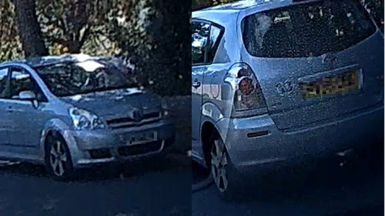 Police are searching for a vehicle in connection with a series of robberies in Poole