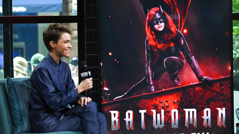 Actress Ruby Rose. Pic: Evan Agostini/Invision/AP